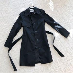 H&M Black Women's Trench Coat